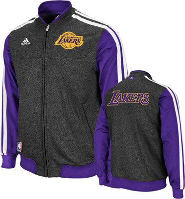 Los Angeles Lakers NBA Winter Authentic On-Court Jacket  40aed882cbabf