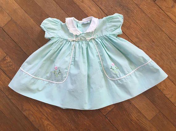 Vintage 1950s Nannette Sheer Infant Dress,1950s,50s,Infant dress,toddler dress,Baby dress,sheer dress