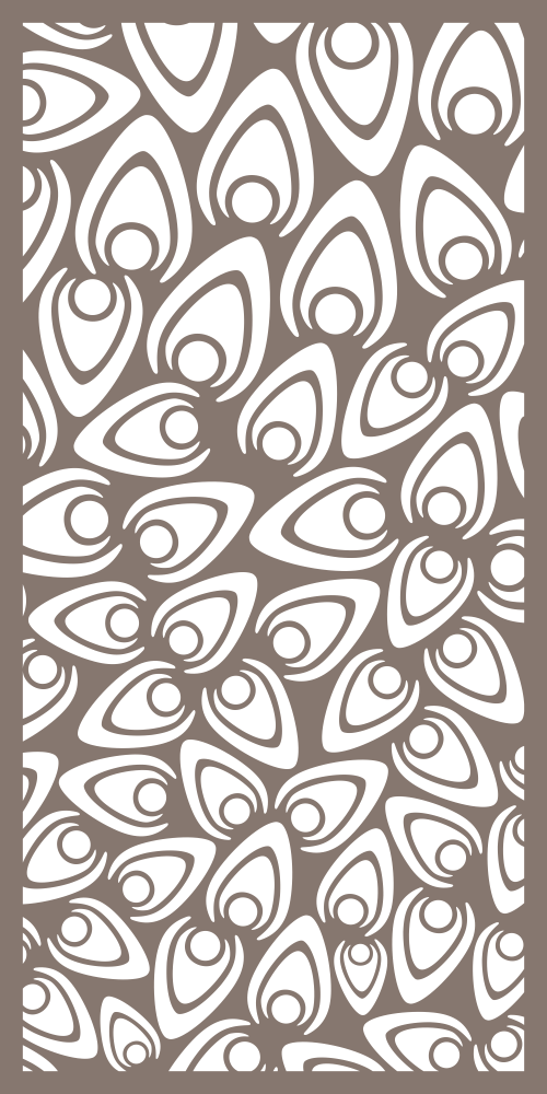 Decorative Privacy Screen Free Vector cdr Download   Screen Panels