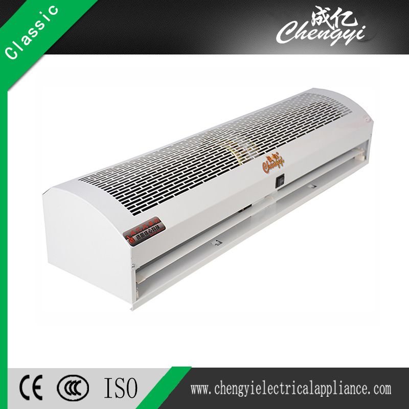 air curtains block or counter the flow