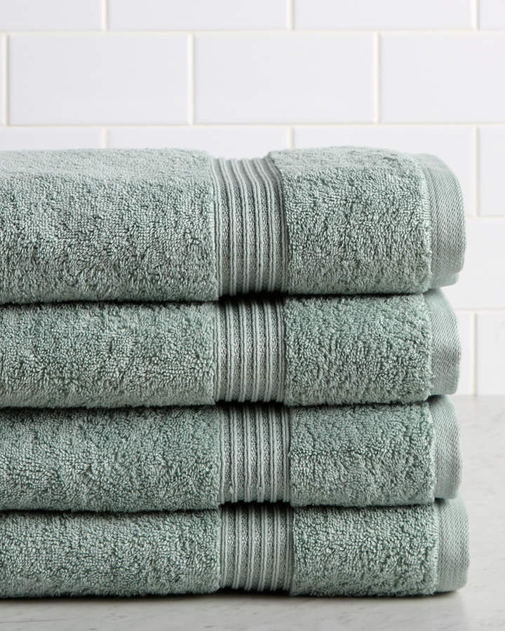 Superior Set Of Four Premium Combed Cotton Bath Towels Products