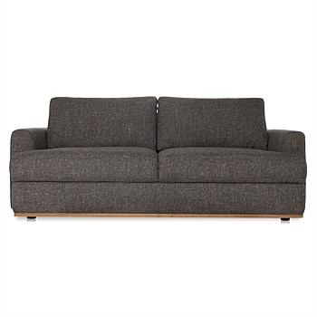 (Storage) Thunder Fabric Nixon Sofa 3 Seat | freedom