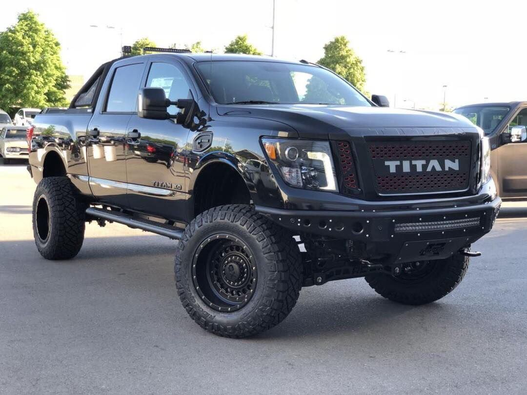 Latest Creation equipped with our Nissan Titan Front & Rear