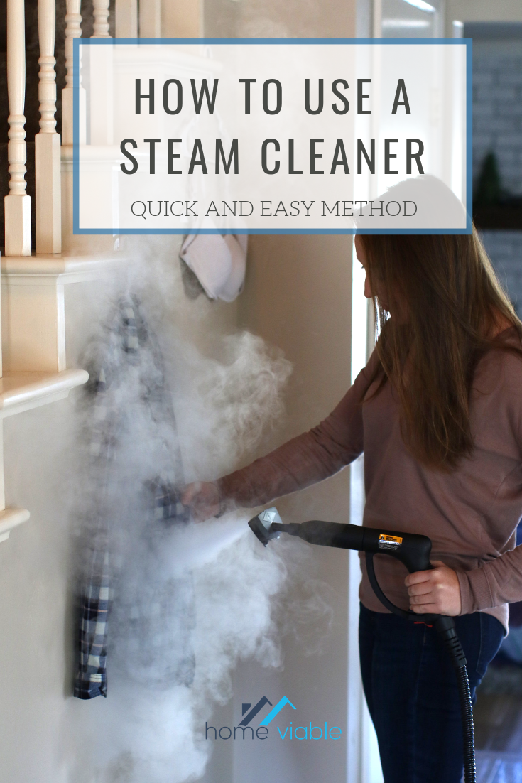 Learn How To Use A Steamer To Iron Your Clothing This All Natural Machine Makes Ironing Handheld Clothes Steamer Clothes Steamer All Natural Cleaning Products