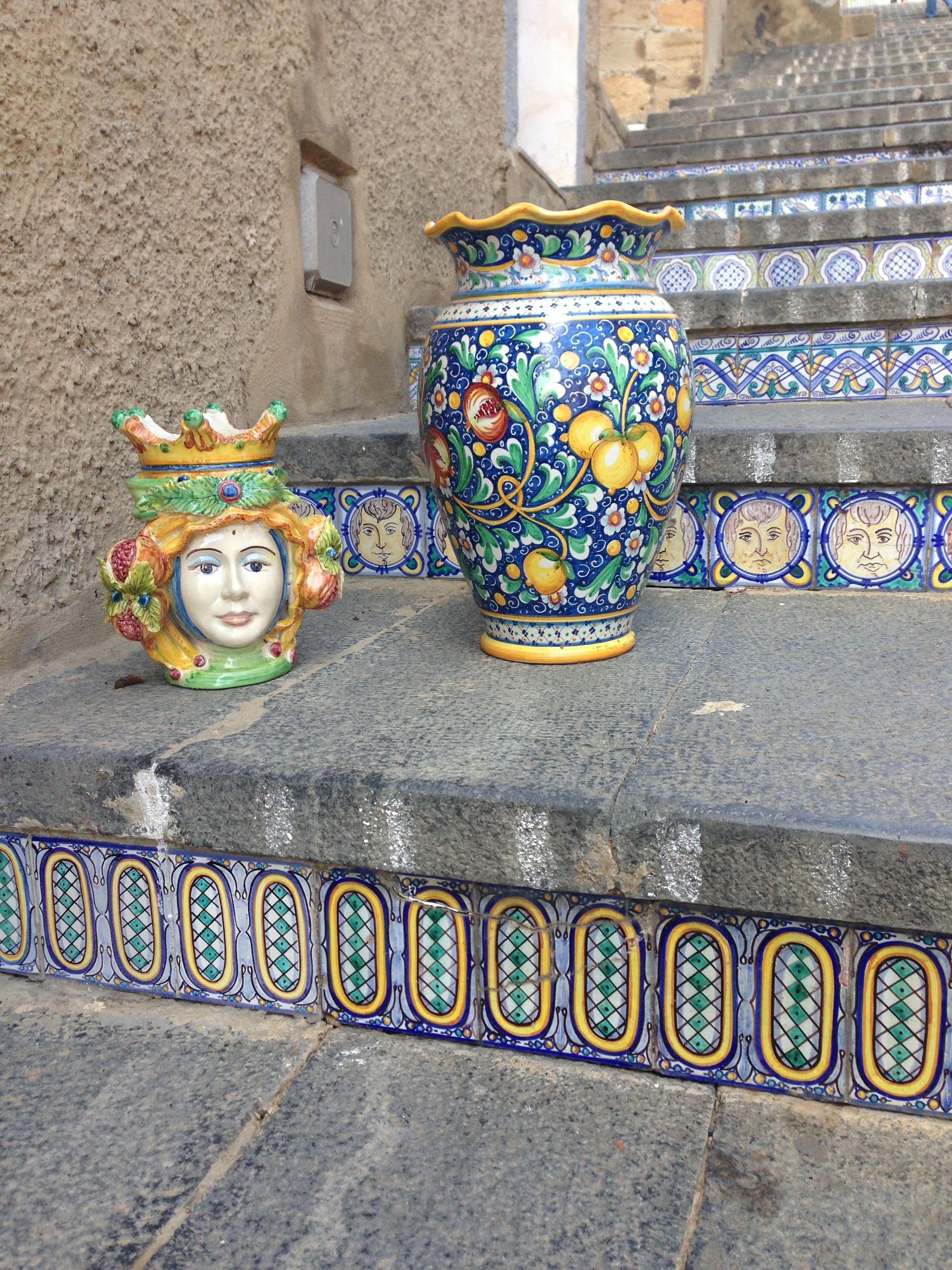 Caltagirone, Sicily! | Sicilia, Ceramica italiana