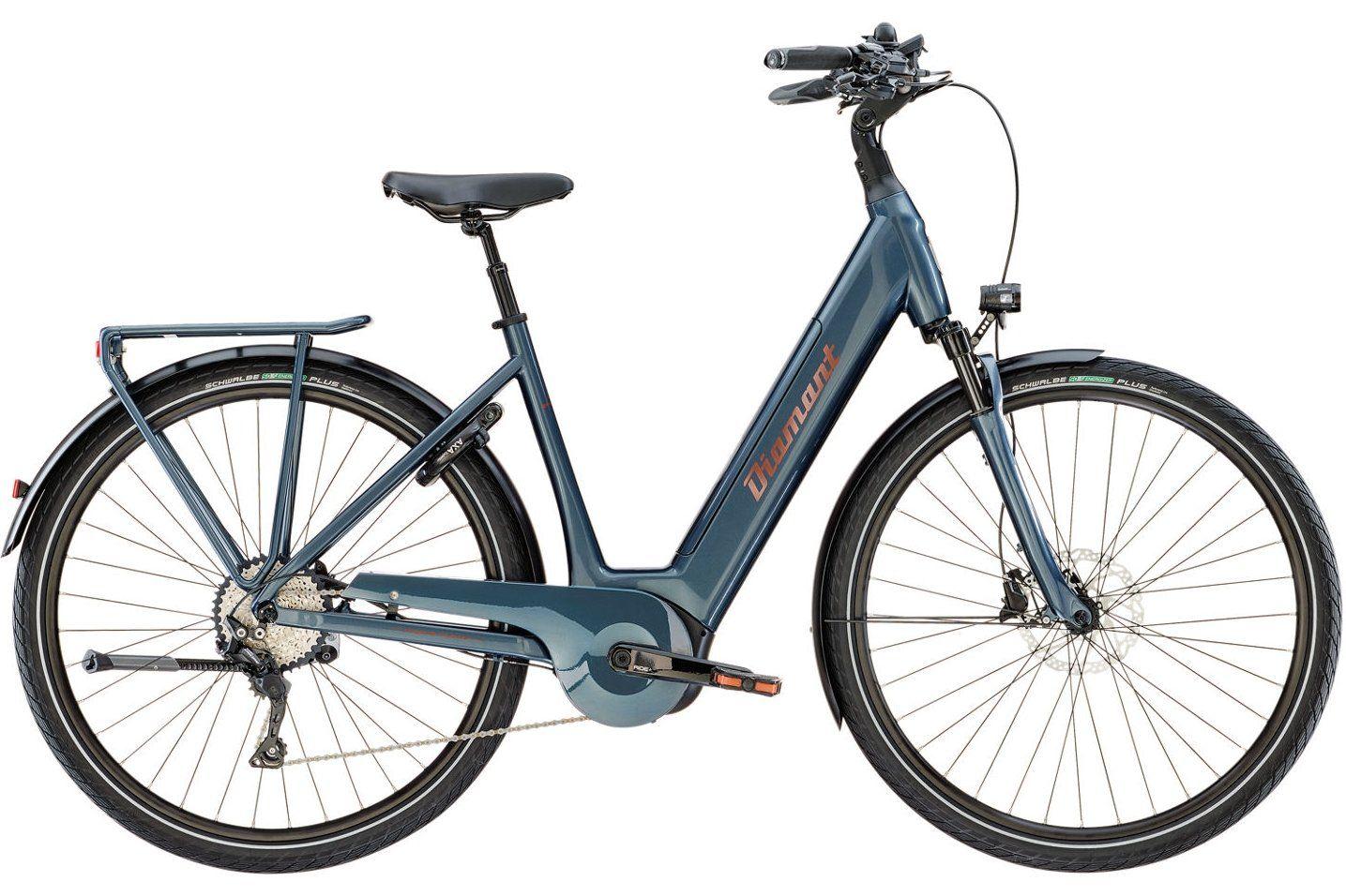 2018 Diamant ZAGORA+ DAMEN Cavansitblau jehlebikes Fahrrad