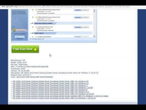 HP 2200c 2210 Driver Docking Station Driver Download Center