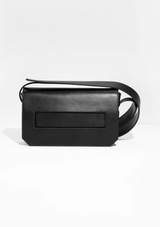 Other Stories image 1 of Wide Strap Crossover Bag in Black ... 066733e612ff6