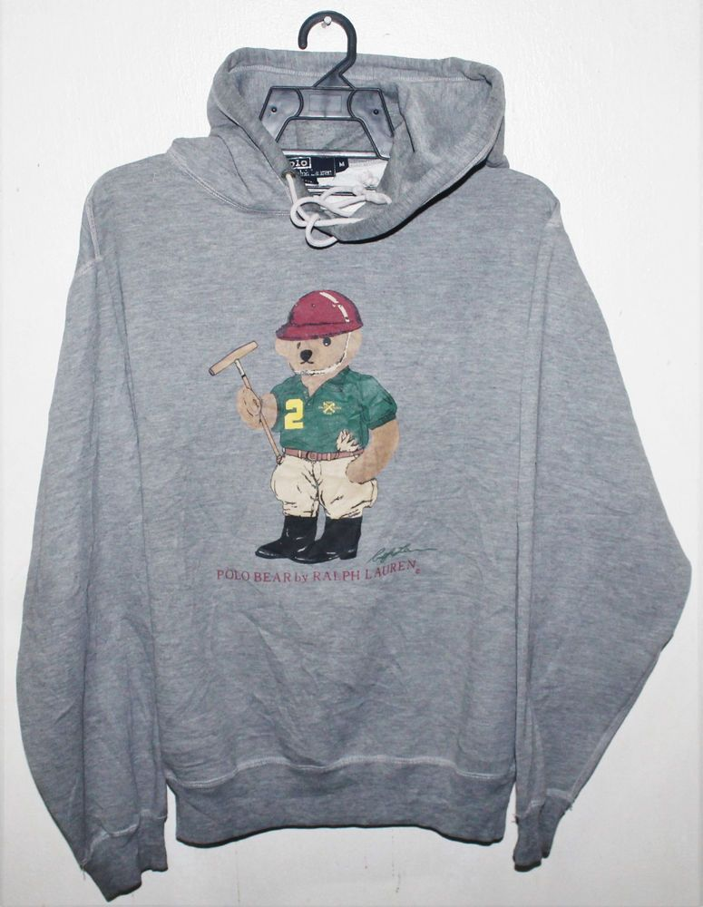 731bb4c6540 RALPH LAUREN POLO BEAR HOODIE. | eBay! | clothinng sample | Bear ...