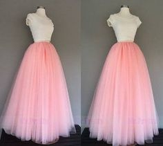 b367bb9ff how to make a layered and long tulle skirt - Google Search | Diy ...
