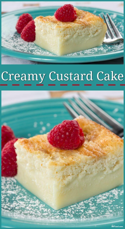 Creamy Custard Cake