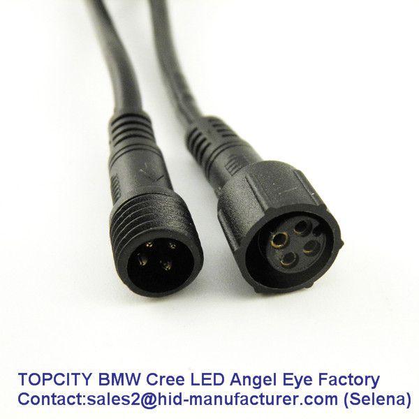 BMW LED MARKER,BMW LED ANGEL EYE Connector