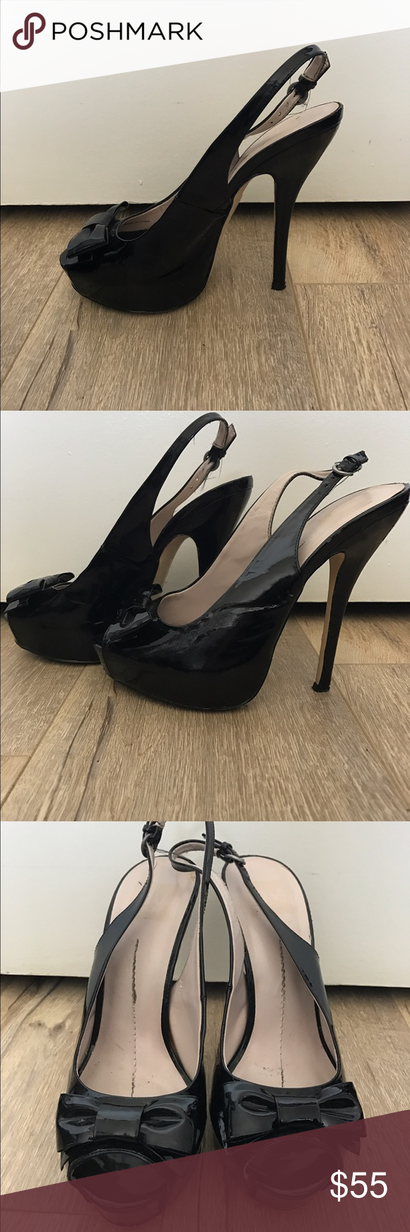 60 S Style Peep Toes 60s Fashion Black Peeptoe Dolce Vita Shoes