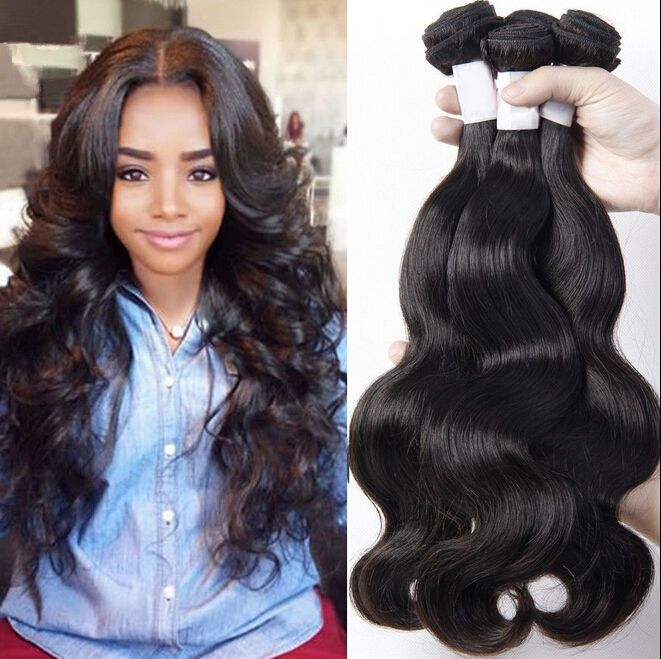 15 15 bundles/ 15g Brazilian Virgin Body Wave 15% Remy Human ...