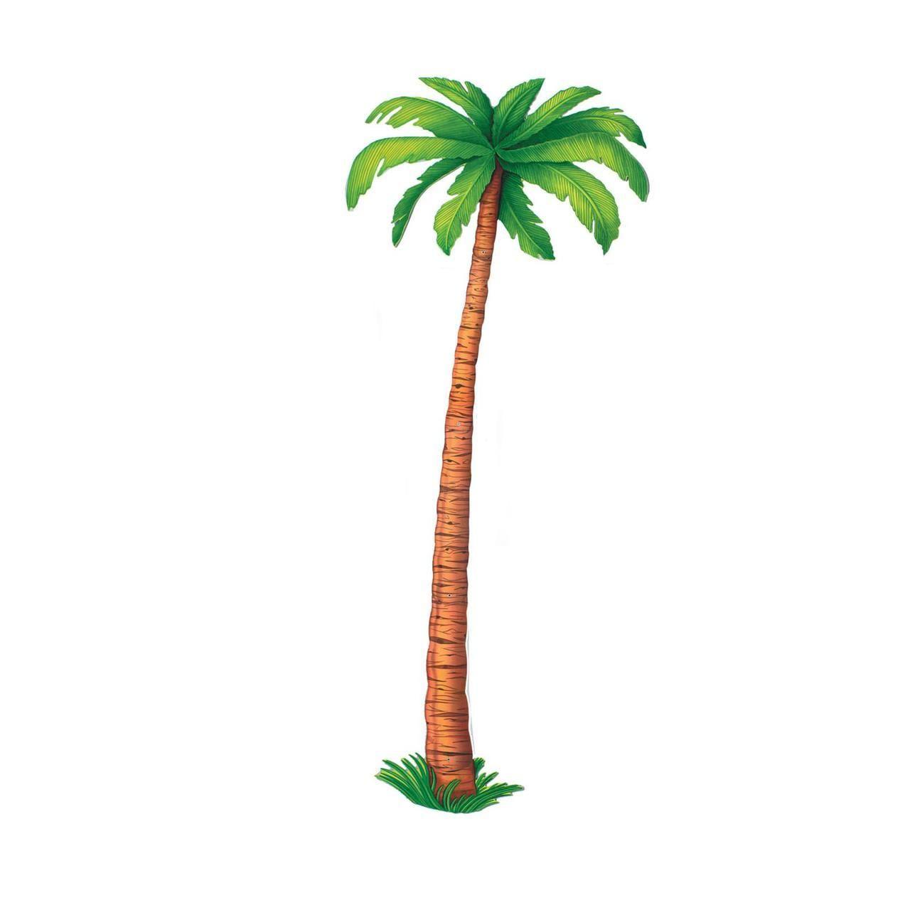 6 jointed palm tree cutout paper palm tree moana