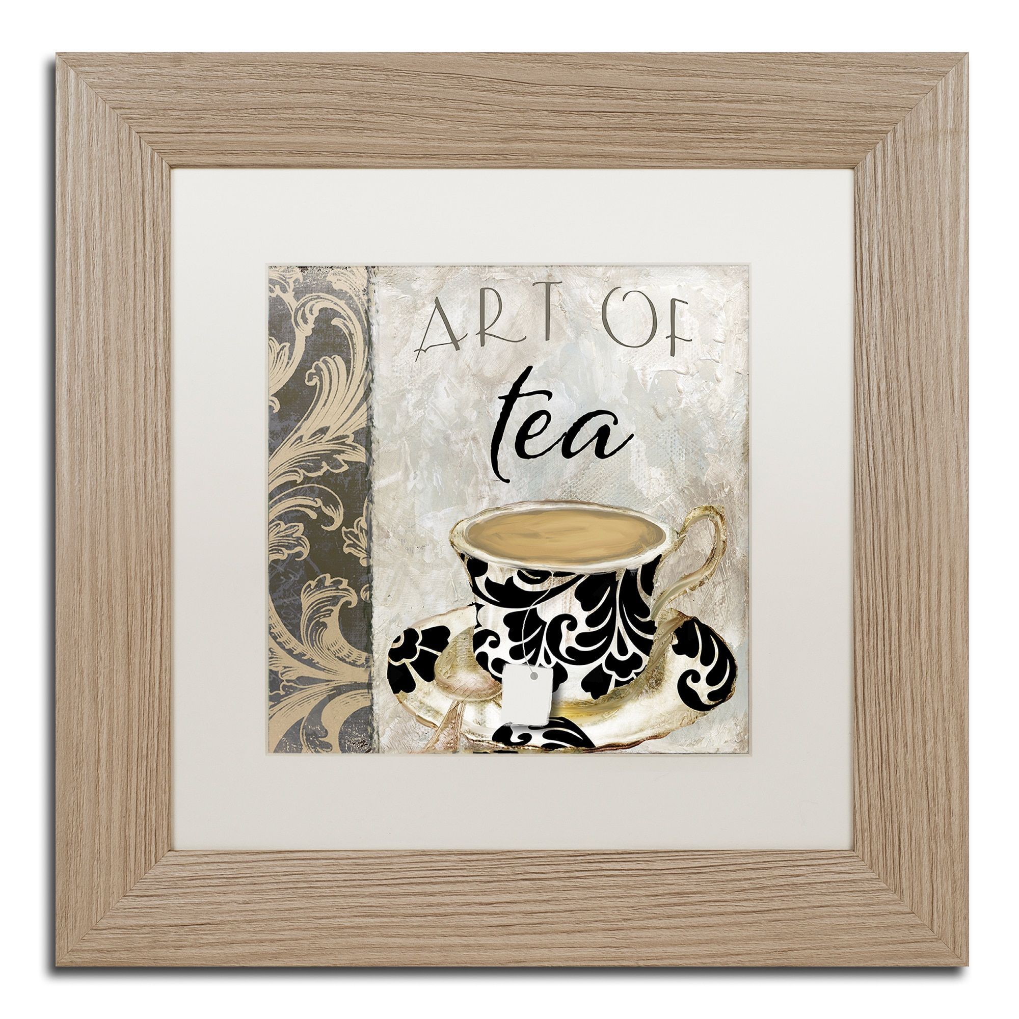 Color bakery uart of tea iu matted framed art products pinterest