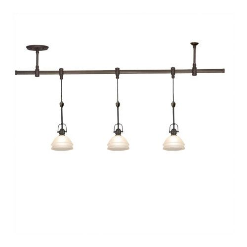 Sea Gull Lighting Trenton 3 Light Track Lighting Pendant Kit
