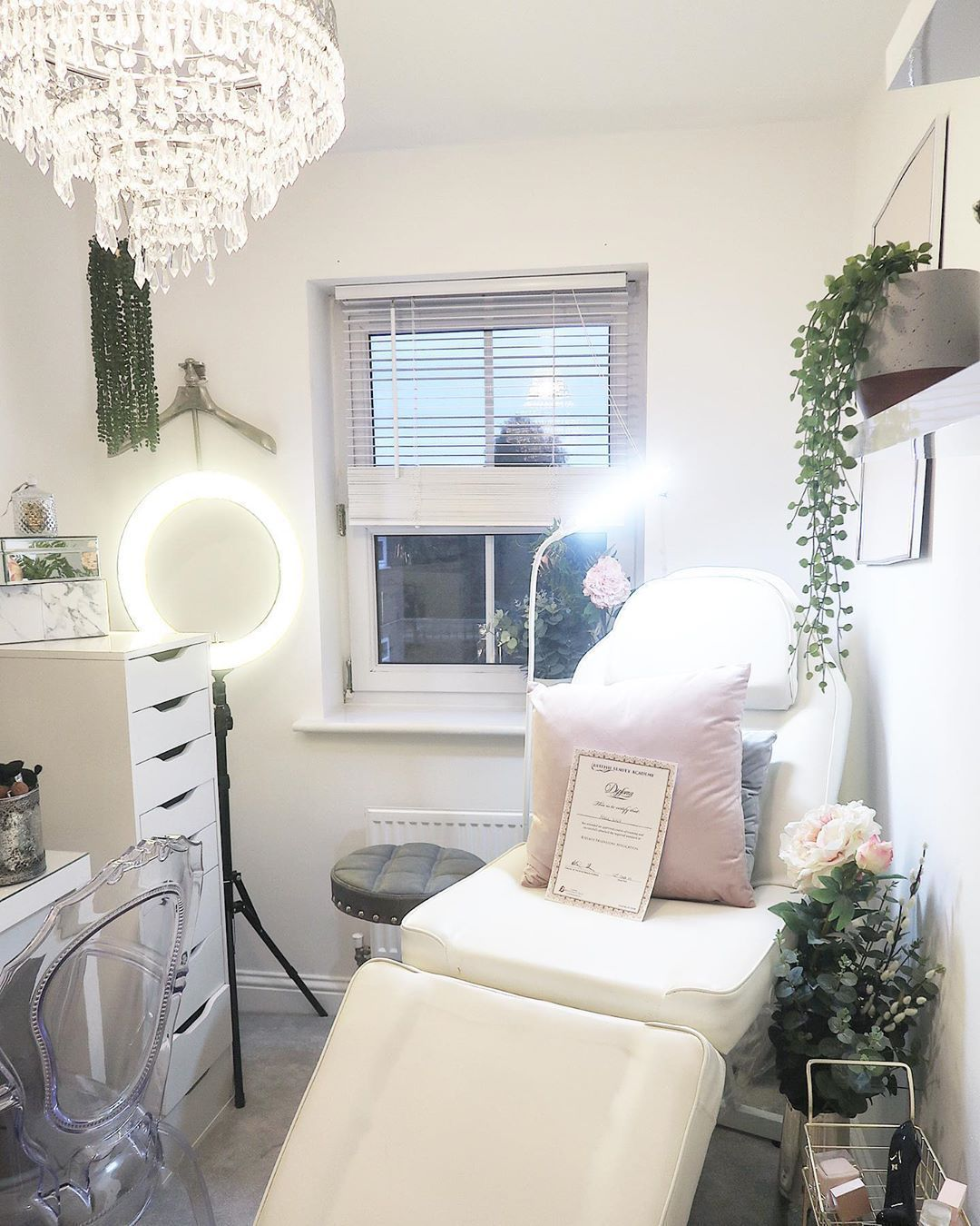 New ring light, stool, decor & over head LED lamp added to my beautiful Lash room! Sill practising as I want to get this to perfection! Signage going up at the weekend I can not wait!  New ring light, stool, decor & over head LED lamp added to my beautiful Lash room! Sill practising as I want to get this to perfection! Signage going up at the weekend I can not wait! #lashroomdecor New ring light, stool, decor & over head LED lamp added to my beautiful Lash room! Sill practising as I want to get #lashroomdecor