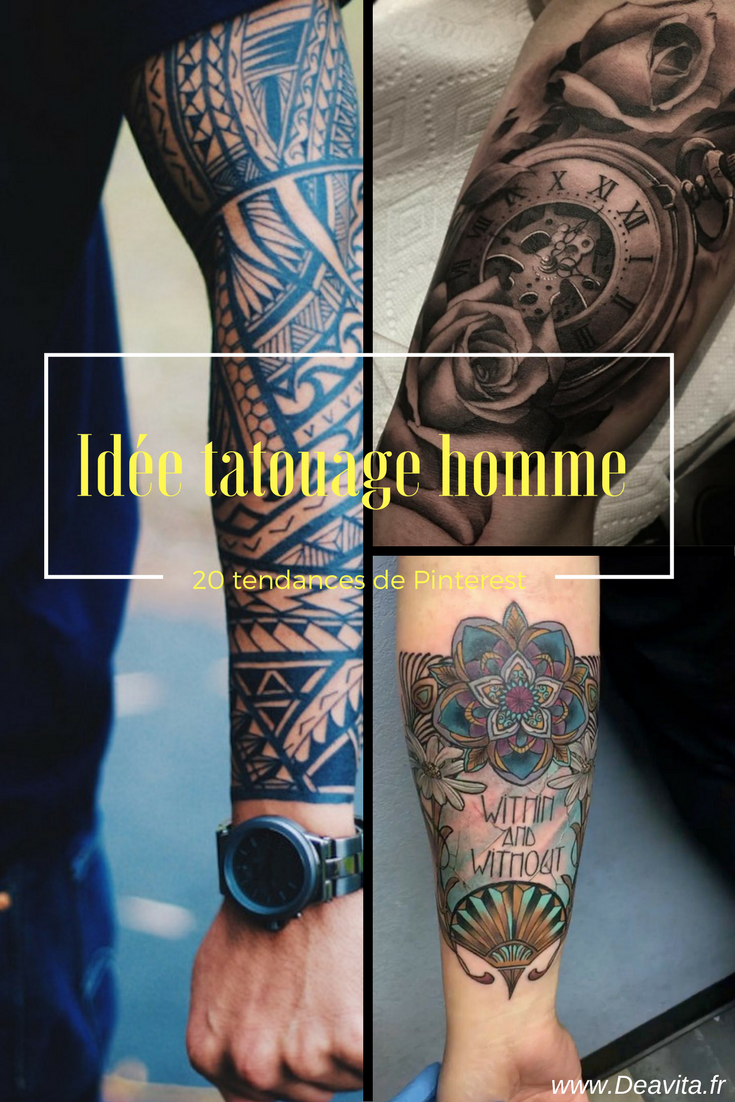 tendance tatouage homme trendy tendance tatouage homme with tendance tatouage homme top. Black Bedroom Furniture Sets. Home Design Ideas