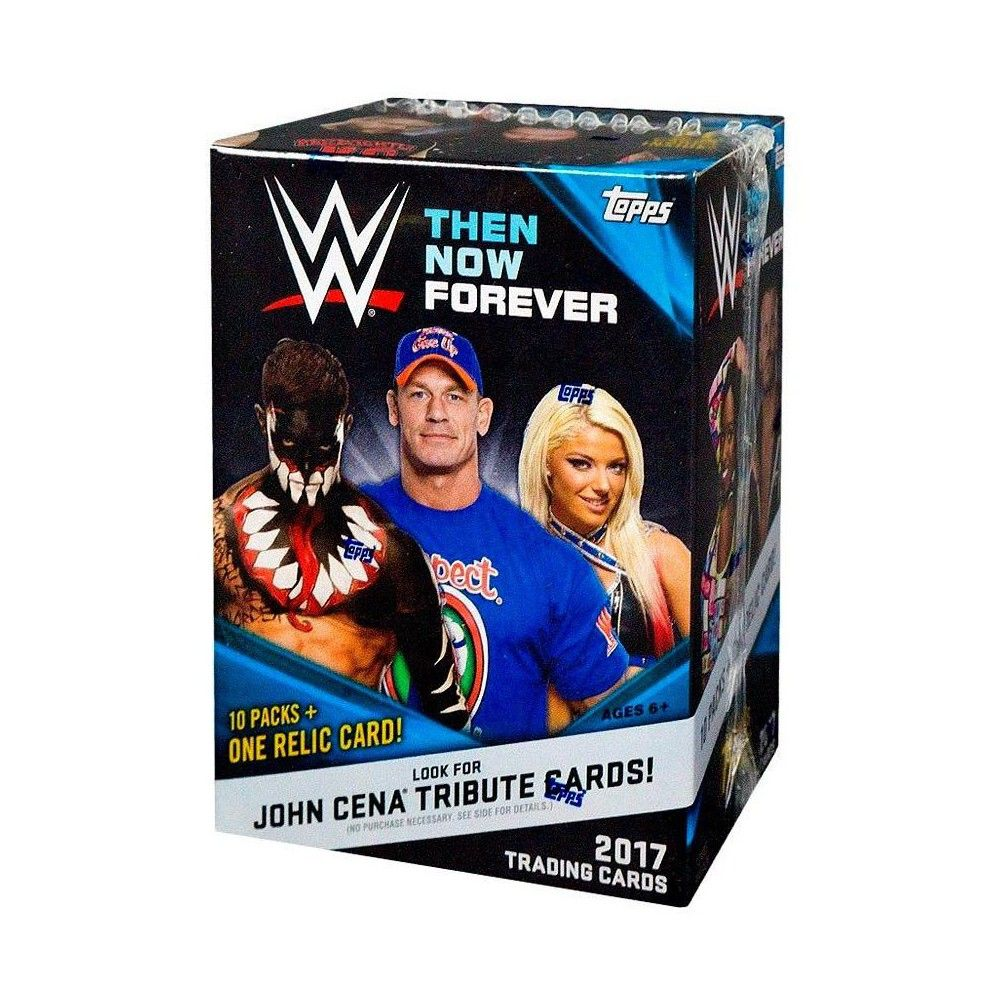 WWE Wrestling 2017 WWE Then Now Forever Trading Card