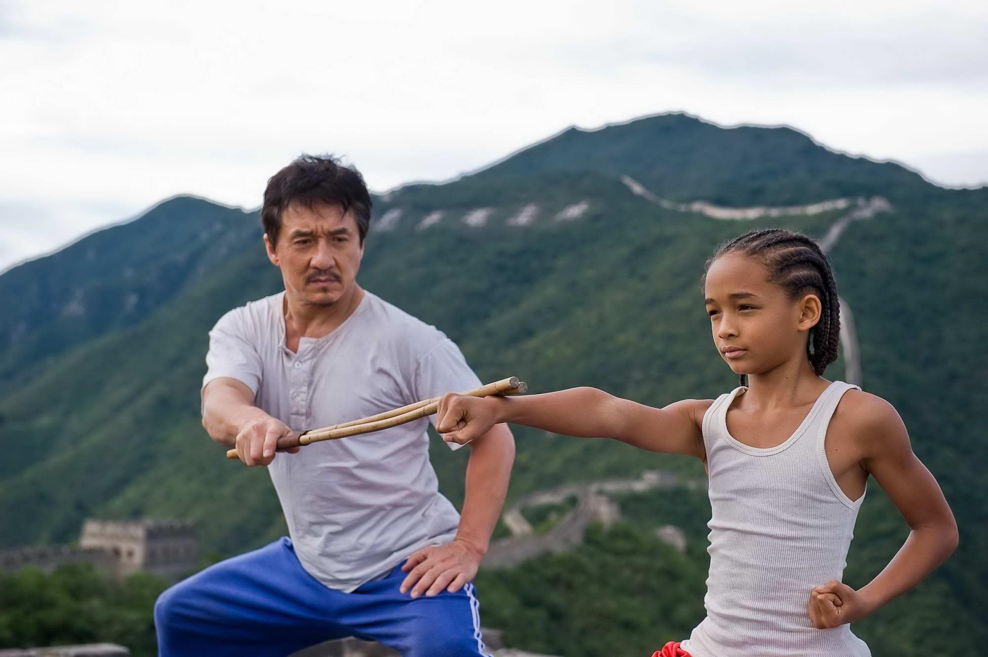 Karate Kid Jackie Chan And Jaden Smith Karate Kid Karate Kid 2010 Karate Kid Jackie Chan