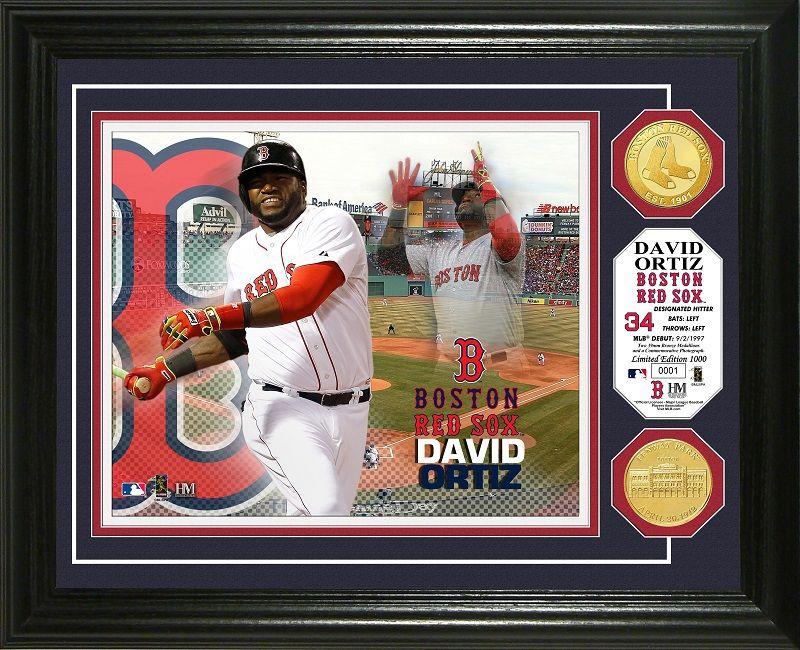 AAA Sports Memorabilia LLC David Ortiz bigpappi redsox