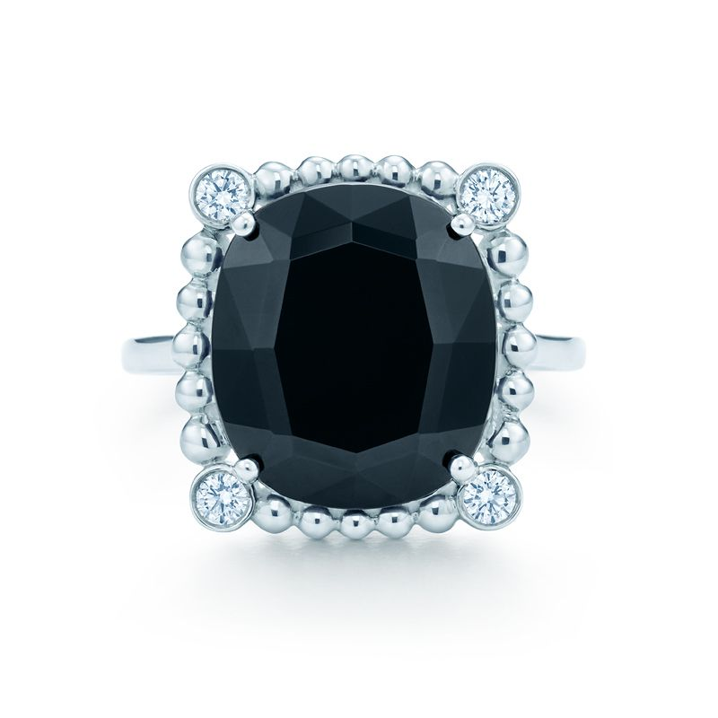 Ziegfeld Collection Black Spinel Ring