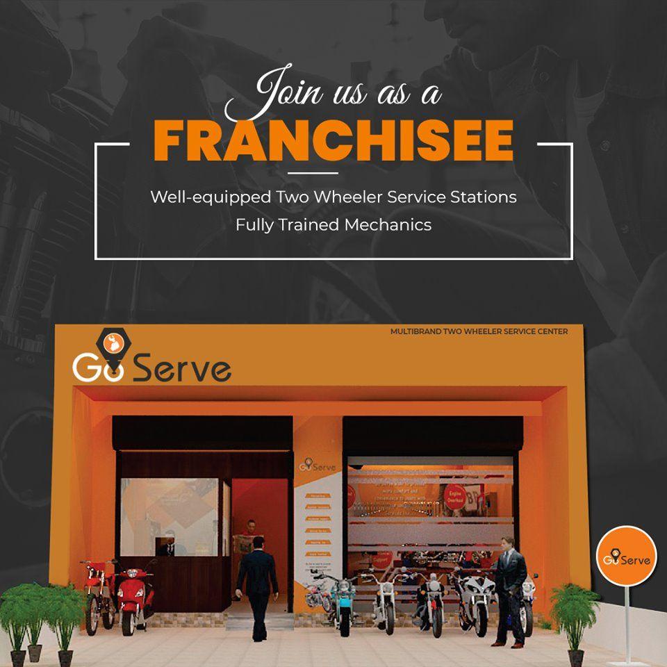 Go Serve Offer Franchise For Two Wheeler Service Station