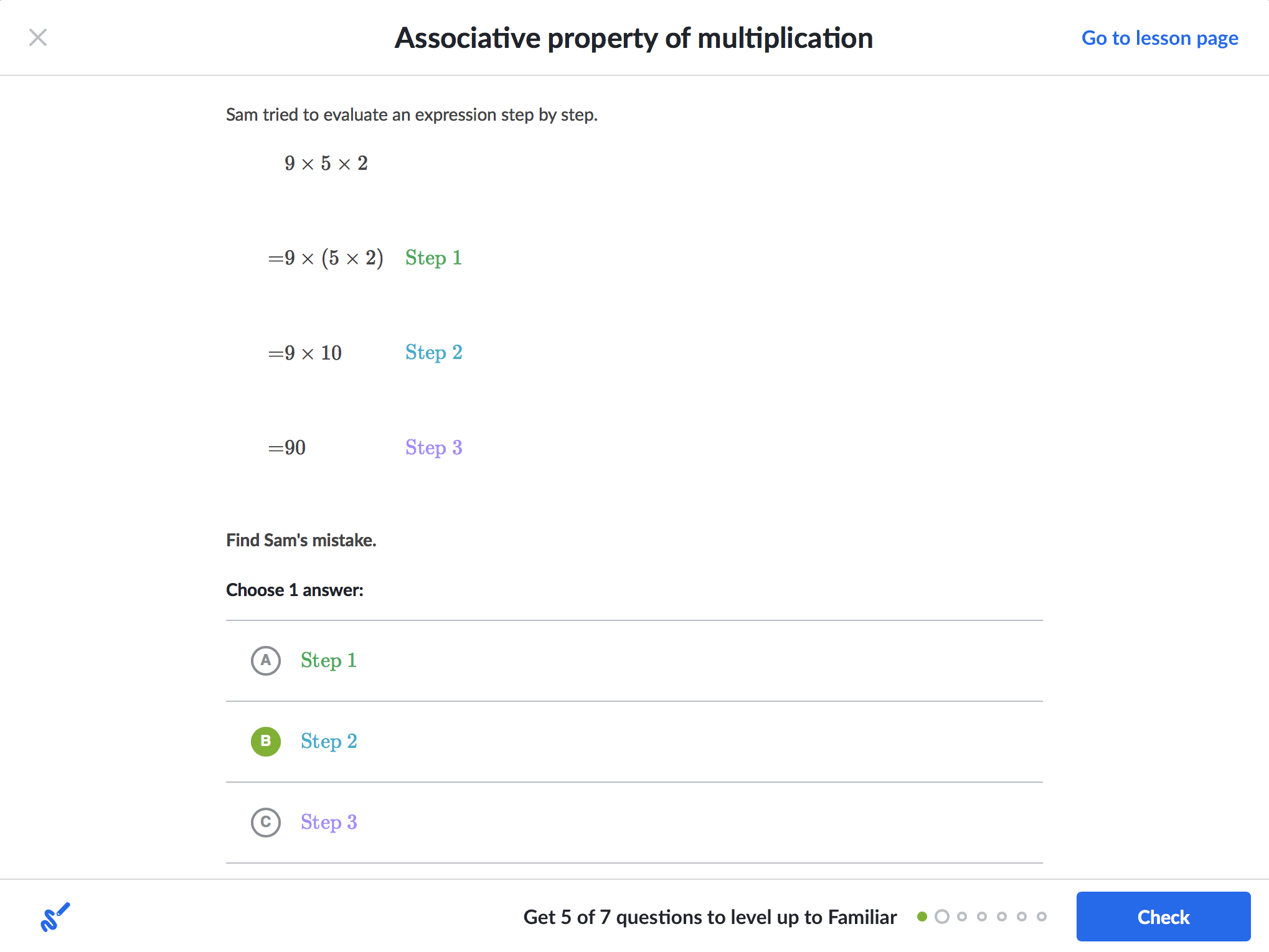 Richly formatted question with multiple choice answer | Immerz Game