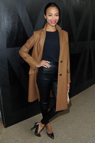 Zoe Saldana style