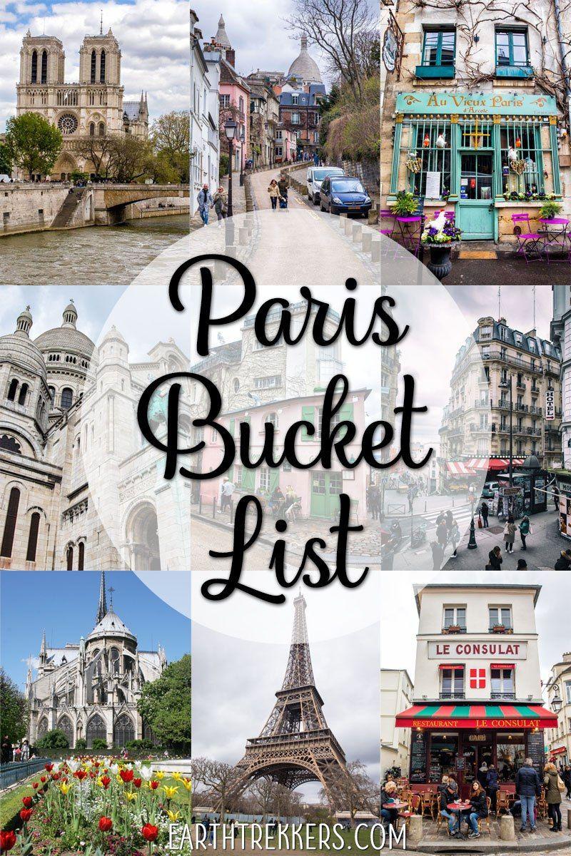 Paris Bucket List 45 Must Have Experiences In Paris Paris