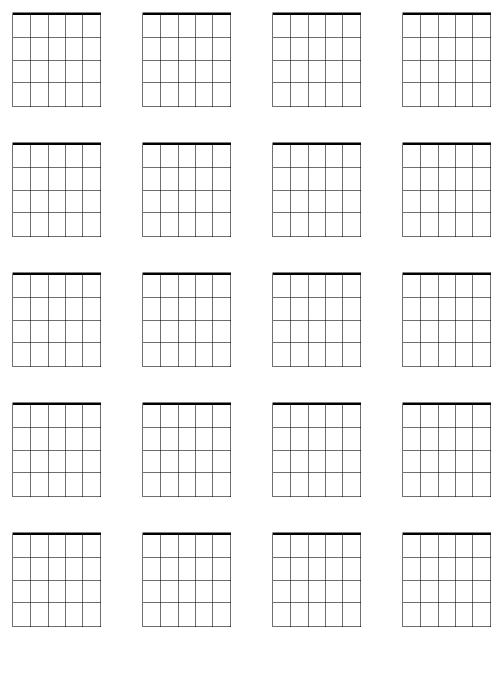 blank tablature music sheets