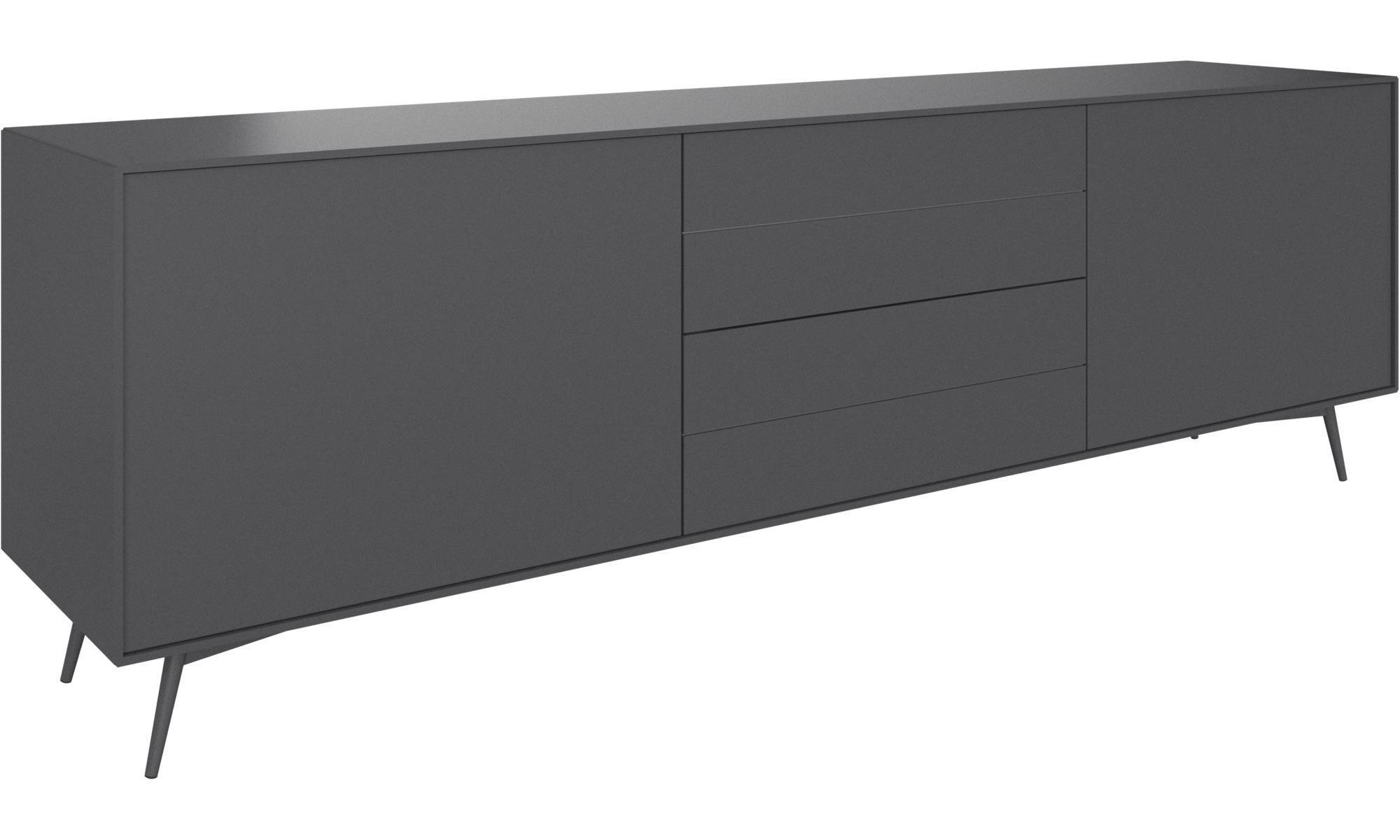 sideboards fermo sideboard grau lack wohnung in 2018 pinterest wohnzimmer boconcept. Black Bedroom Furniture Sets. Home Design Ideas