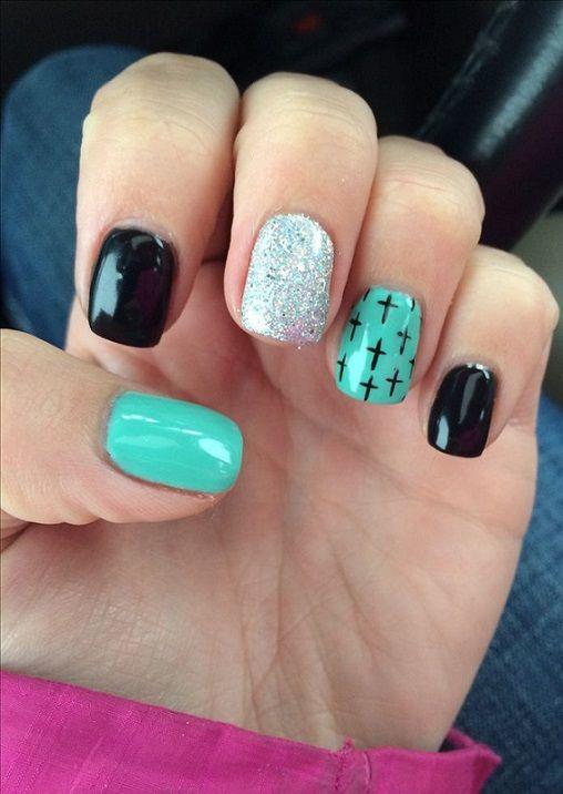 30 Cross nail designs ideas 2018 | Cross nail designs, Cross nails ...