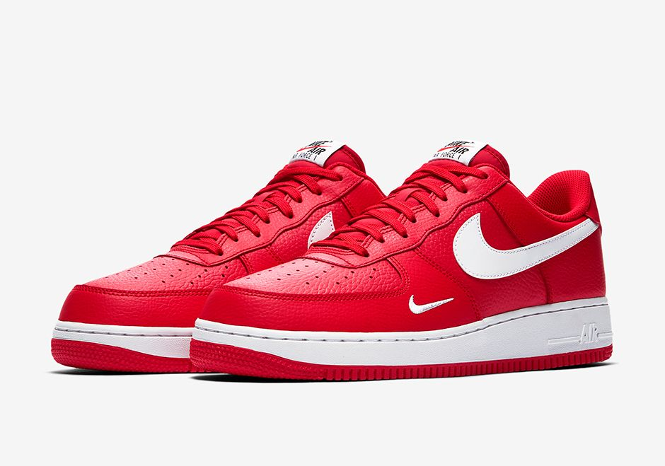 nike air force 1 low lunar red chest