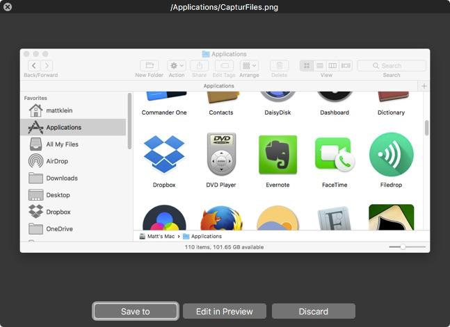 5 Aplikasi Screenshot Terbaik Di MacOS - captur