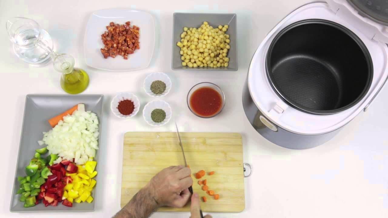 Receta newcook master 3d garbanzos con chorizo olla expr s y programables recetas para - Newcook plus ...