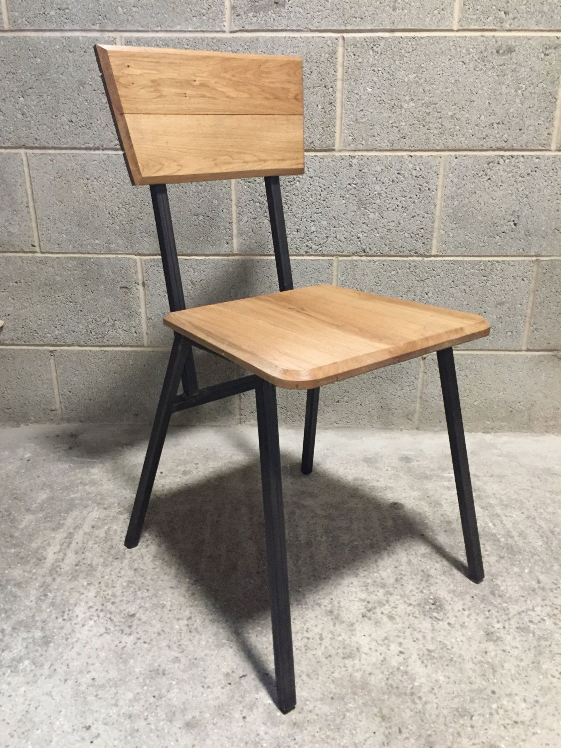 7 Retro Industrial Dining Chair is part of Retro chair - 7 table
