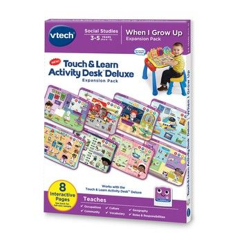 Touch Learn Activity Desk Deluxe When I Grow Up Learning