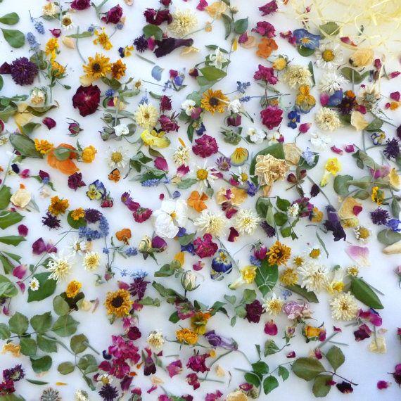 Wedding Petal Confetti, Dry Flower Confetti, Wedding Decorations ...