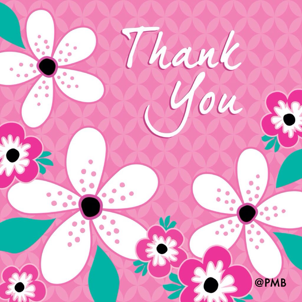 Thank You Greeting Mypmb Facebookpromotemybusiness4me