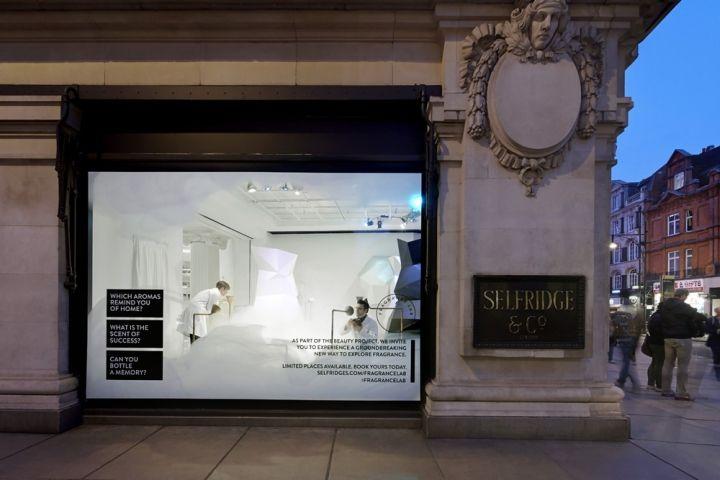 Fragrance Lab Installation By Campaign The Future Laboratory Selfridges And Givaudan London Cosmetics Visual Merchandising Parfum Branding