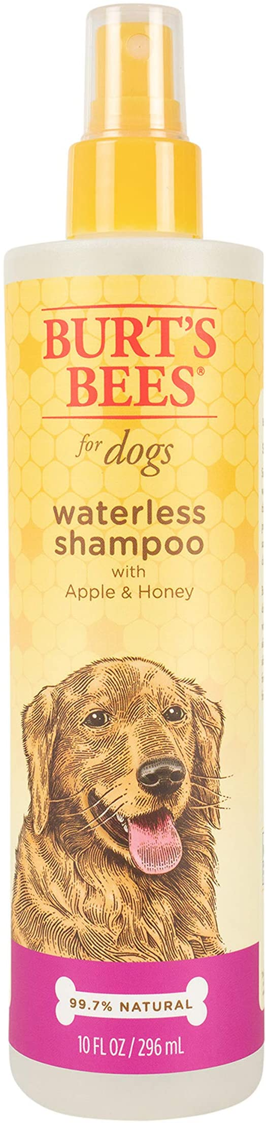 Pet Shampoos Amazon Com Burt S Bees For Dogs Natural Waterless Shampoo Spray With Apple And Honey Puppy And Do Dog Spray Waterless Shampoo Dry Dog Shampoo