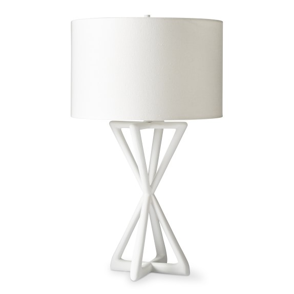 High End Luxury Table Lamps Williams Sonoma In 2021 Table Lamp Lamp White Table Lamp