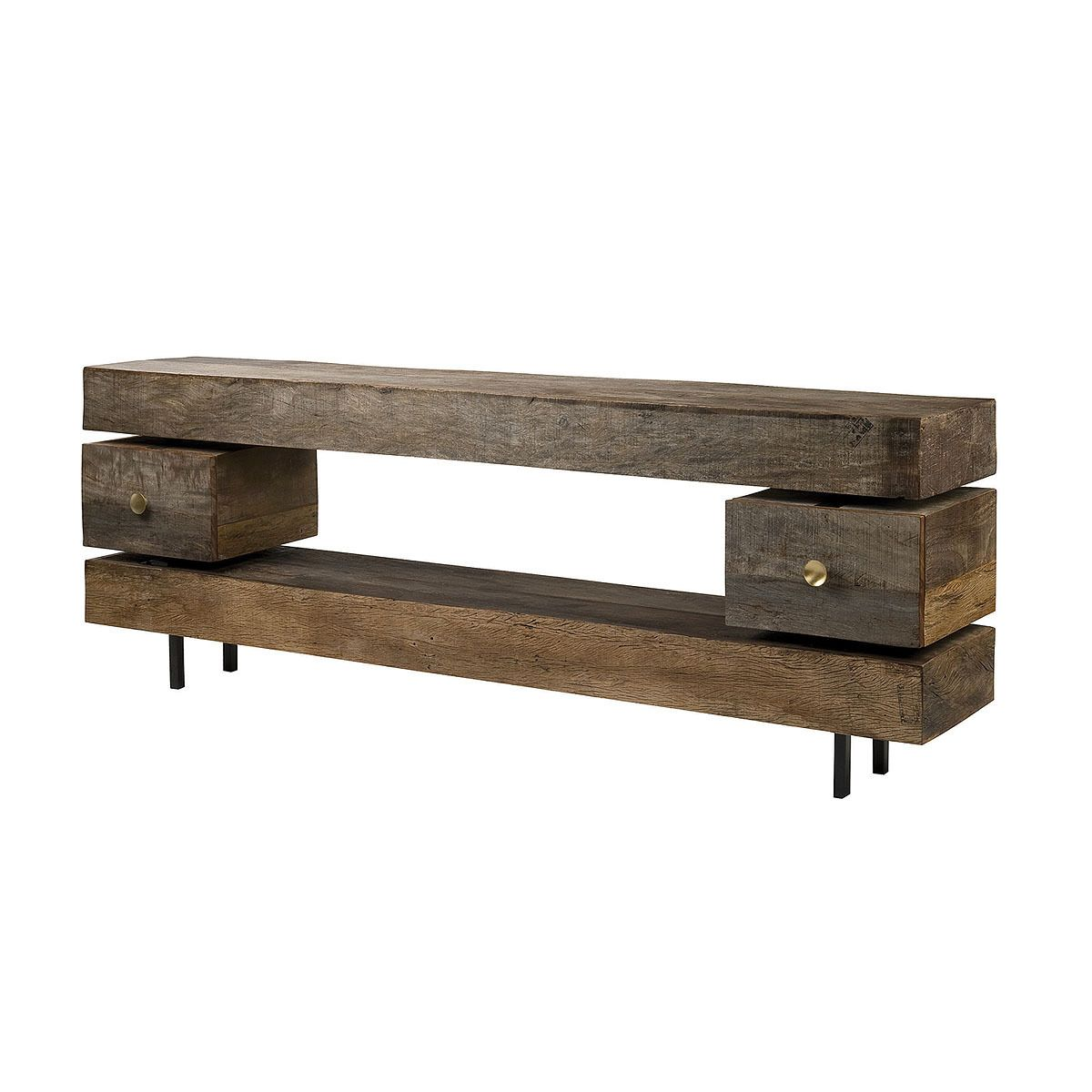 Dillon Reclaimed Wood Console Table   Console tables, Consoles and Woods