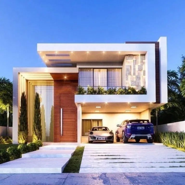 22 modern style house design ideas, inspiration & pictures ...