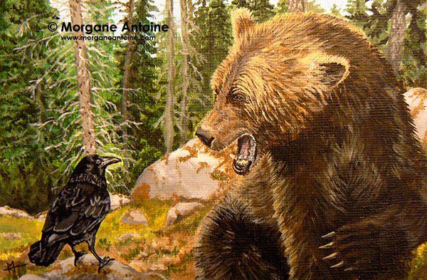 http://www.morganeantoine.com teasing the great bear