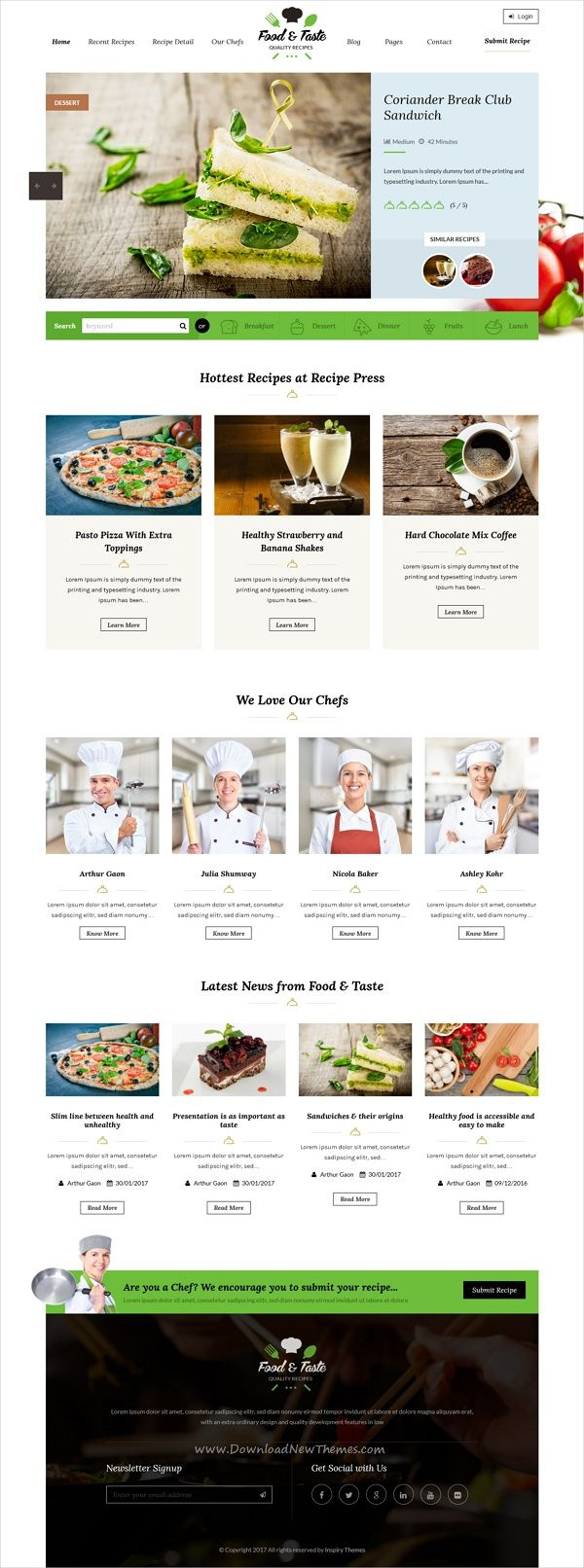 Recipepress is a premium responsive wordpress theme for recipes recipepress is a premium responsive wordpress theme for recipes and other food related forumfinder Choice Image