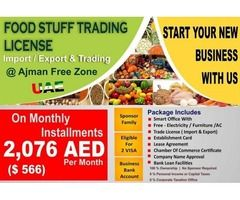 Food Stuff Trading Business Consultancy in UAE | Items for