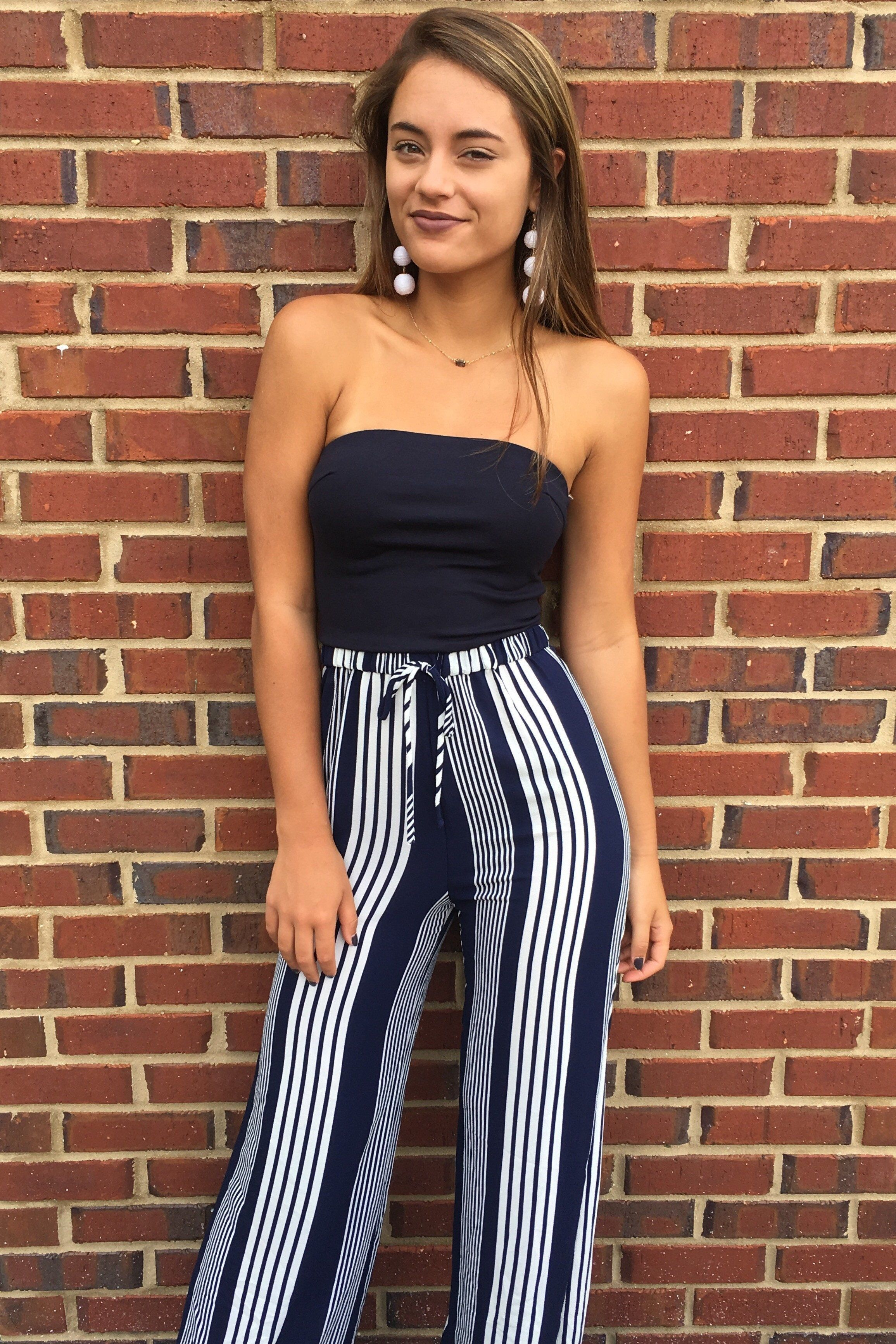 2a4e84db2f Blue Angel Jumpsuit - Navy from Chocolate Shoe Boutique